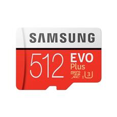Micro SDXC 512GB Samsung EVO Plus + SD adaptér
