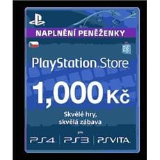 Sony PlayStation Live Cards á 1000 CZK