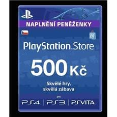 Sony PlayStation Live Cards á 500 CZK