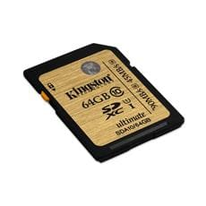Kingston 64GB SDXC Class 10 UHS-I Ultimate