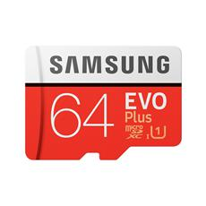 Samsung microSDXC 64GB EVO Plus (2020) + SD adaptér