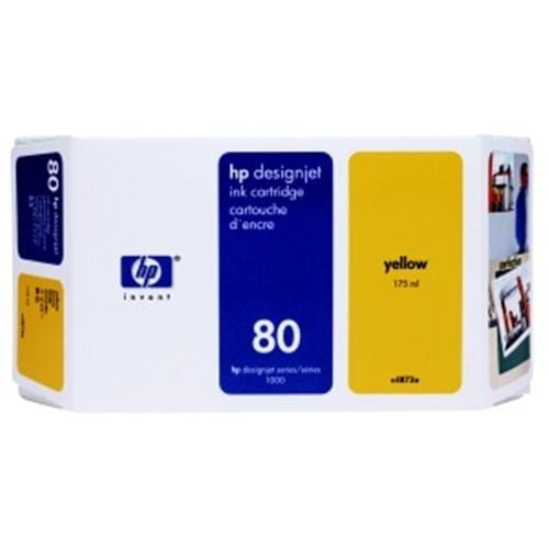 Kazeta HP C4848A No. 80 350ml Yellow