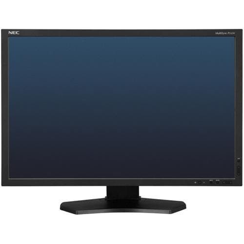 "Monitor NEC P232W, 23"", LED, IPS, 1920x1080, 1000:1, 8ms, 250cd, D-SUB, DVI, DP, HDMI, USB, pivot, čierny"