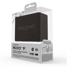Creative MUVO 1C, black, bluetooth reproduktor, IP66