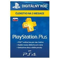 PlayStation Plus Card Hang 90 Days pre SK PS Store