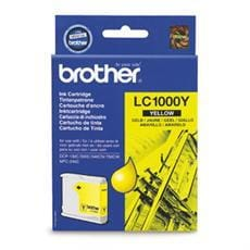 Kazeta BROTHER LC-1000 Yellow DCP-330C/540CN
