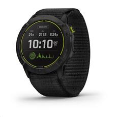 Garmin Enduro, Black DLC/Black Nylon Band