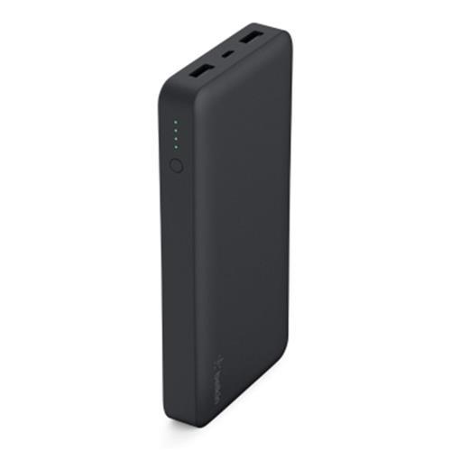 BELKIN Power Pack 15000mAh, 2xUSB port,5V, black F7U021btBLK