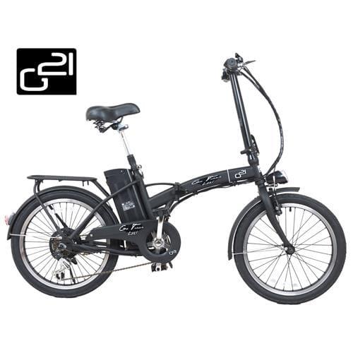 "Elektrobicykel G21 Lexi 20"" Graphite Black G21-BC-Lexi"