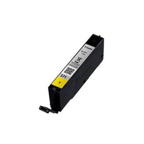 Kazeta CANON CLI-571Y yellow MG 5750/5751/6850/6851/7750/7751 0388C001