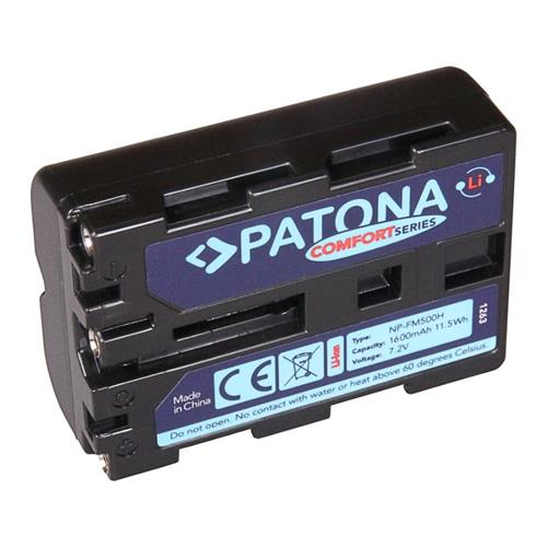 PATONA batéria pre foto Sony NP-FM500H 1600mAh Li-Ion Comfort PT1263