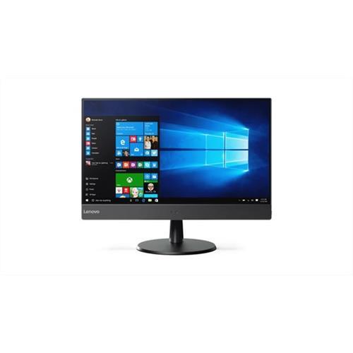 """AiO PC Lenovo TC V510z AIO i5-7400T 3.0GHz 23"""" FHD TOUCH matny UMA 8GB 256GB SSD DVD W10Pro cierny 1yCI 10NJ000PXS"""