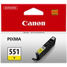Kazeta CANON CLI-551Y yellow MG 5450/6350, iP 7250