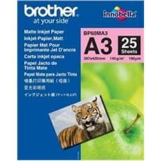 Papier BROTHER BP60 matný A3/25ks