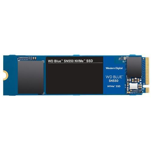 SSD 500GB WD Blue SN550 NVMe M.2 PCIe Gen3 2280 WDS500G2B0C