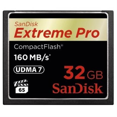 SanDisk 32GB CompactFlash Extreme Pro (160MB/s, VPG65, UDMA7) 123843