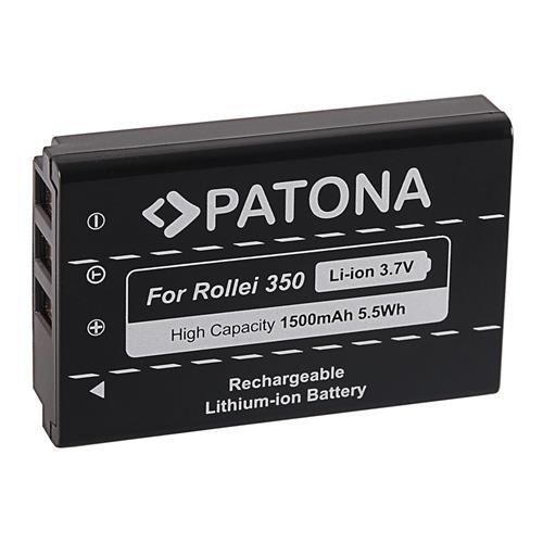 PATONA batéria pre foto Rollei Powerflex 350 Wifi NP-120 1500mAh Li-Ion PT1289