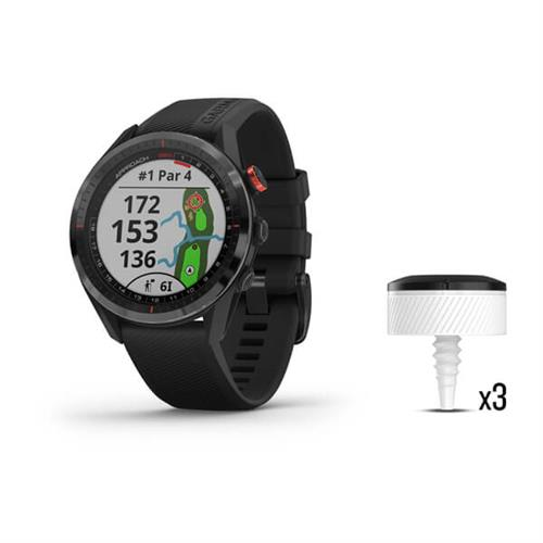 Garmin Approach S62 Black Lifetime Bundle 010 02200 02