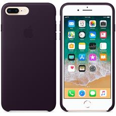 Apple iPhone 8 Plus / 7 Plus Leather Case - Dark Aubergine