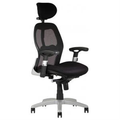 Kancelárska stolička SATURN NET čierna OF100000