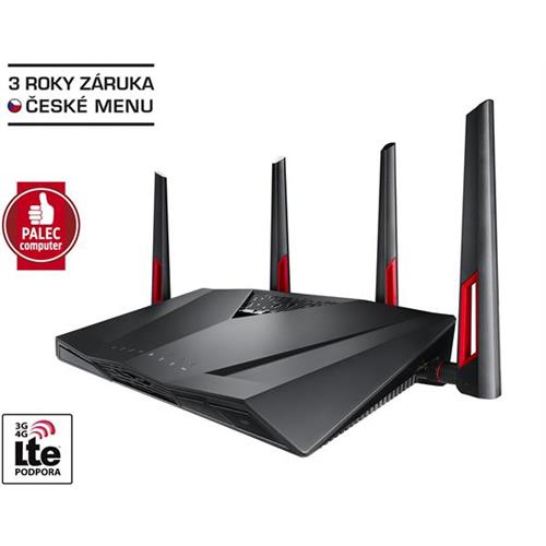 ASUS RT AC88U  Gigabit Dualband Wireless LAN N Router 802 11ac 90IG01Z0 BM3100