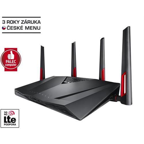 ASUS RT-AC88U, Gigabit Dualband Wireless LAN N Router 802.11ac 90IG01Z0-BM3100