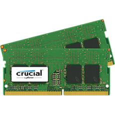 SO-DIMM kit 16GB DDR4 - 2400 MHz Crucial CL17 SR x8, 2x8GB
