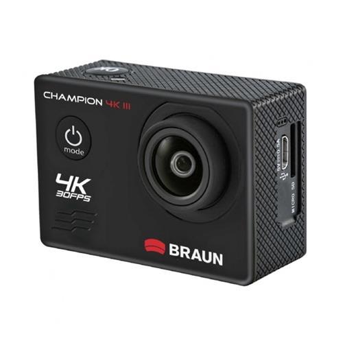 Braun CHAMPION 4K III športová minikamera (4k/30fps, 16MP, WiFi, puzdro do 30m) 57672
