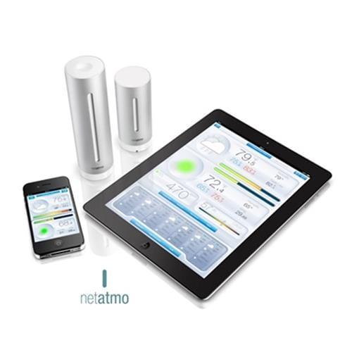 Netatmo Urban - Meteostanica pre Android a iOS NWS01-EC-ALU