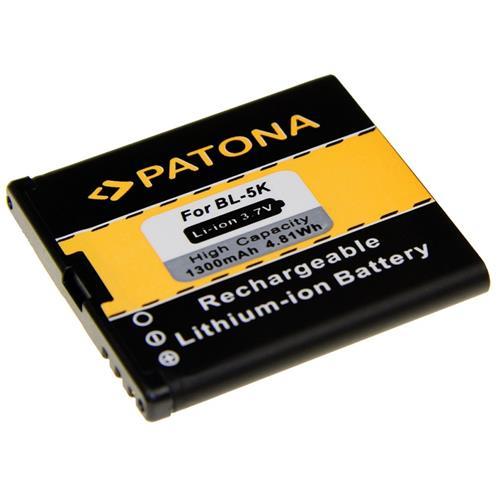 PATONA batéria pre mobilný telefón Nokia BL-5K 1300mAh 3,7V Li-Ion PT3041