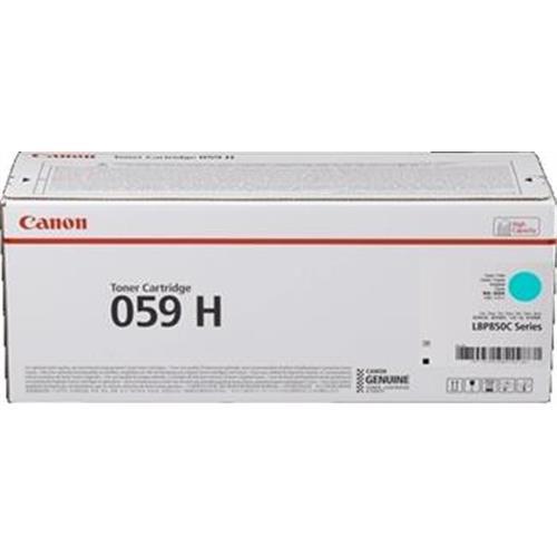 toner CANON CRG-059H cyan i-SENSYNS LBP852Cx (13.500 str.) 3626C001