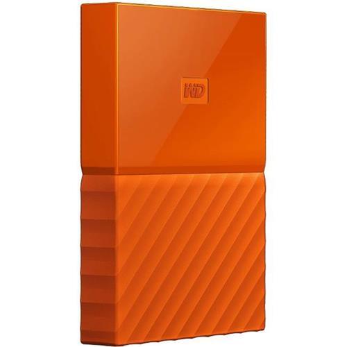 Ext. HDD WD My Passport 2TB, 2,5'', USB 3.0, oranžový WDBS4B0020BOR-WESN