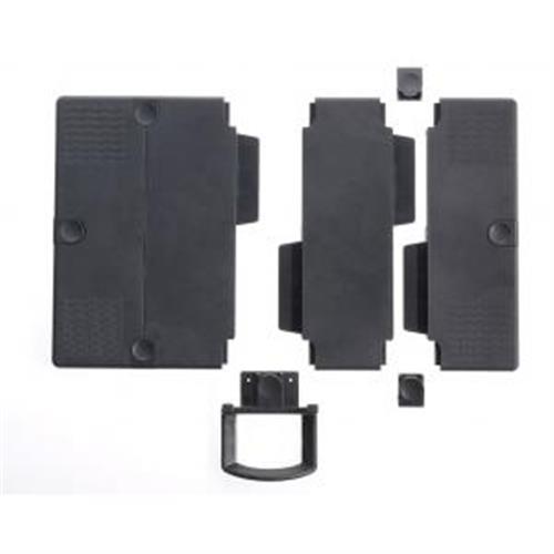 Stredové vložky na rozšírenie podložky nosiča telefónu antracitové NO795905