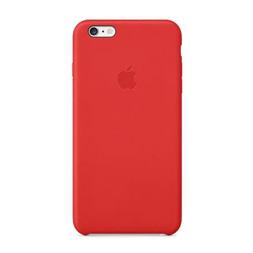 Apple iPhone 6 Plus Leather Case - Red