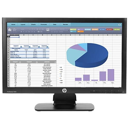 Monitor HP P202 20''LED 1600x900, 250, 1000:1, VGA, DP, 5ms