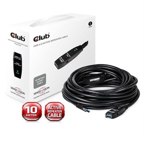 Club3D USB 3.0 Active Repeater Cable 10m CAC-1402