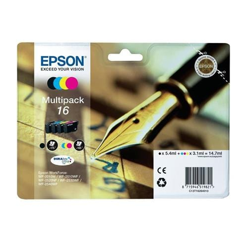 Kazeta EPSON WF-2520/WF-2540 Multipack CMYK C13T16264010