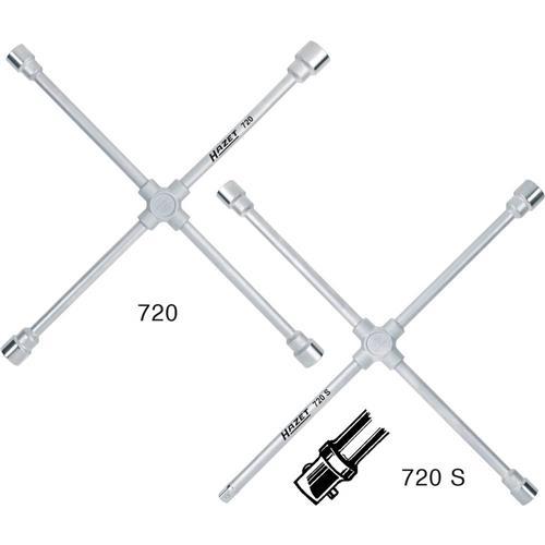 Krížový kľúč Hazet, 715-01, 24 x 27 x 30 x 32 mm 804709