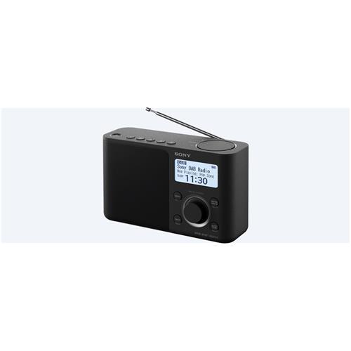 Sony rádio XDRS61DB.EU8 prenosné, čierne