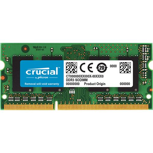 SO-DIMM 8GB DDR3L - 1600 MHz Crucial CL11 1.35V/1.5V CT102464BF160B