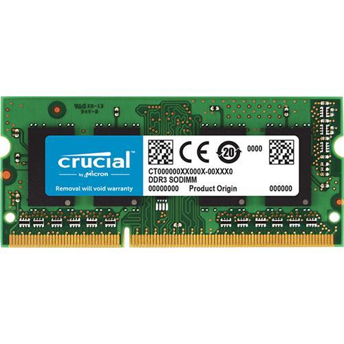 SO-DIMM 8GB DDR3L - 1600 MHz Crucial CL11 1.35V/1.5V CT102464BF160B