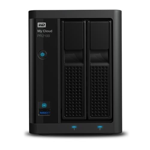 NAS 3,5'' WD My Cloud Pro PR2100 8TB NAS LAN WDBBCL0080JBK-EESN