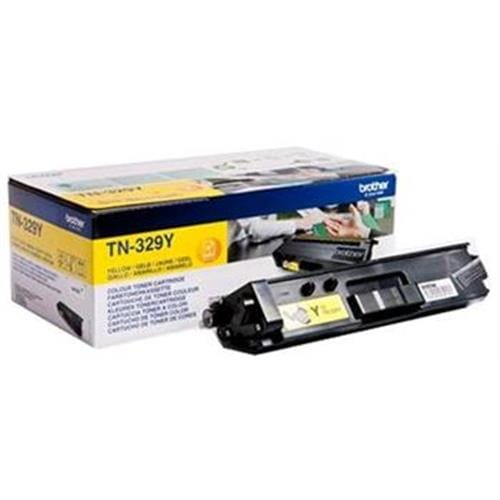 Toner BROTHER TN-329 Yellow HL-L8350CDW, DCP-L8450CDW, MFC-L8850CDW