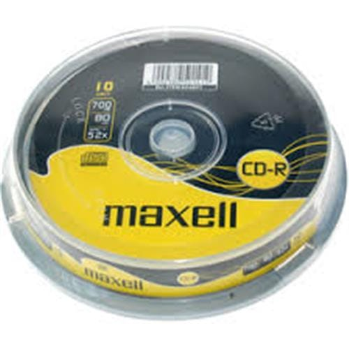 CD-R MAXELL 700MB 52X 10ks/cake 4902580501419