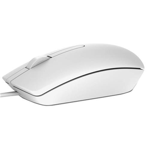 Myš Dell MS116, optická, USB, biela 570-AAIP