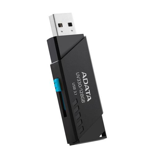 USB Kľúč 128GB ADATA USB UV330 USB 3.0 black AUV330-128G-RBK