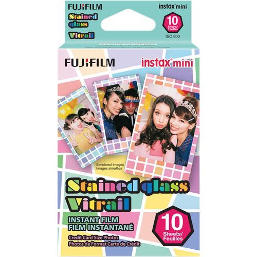 Fujifilm COLORFILM INSTAX mini 10 fotografií - STAINED GLASS 16203733
