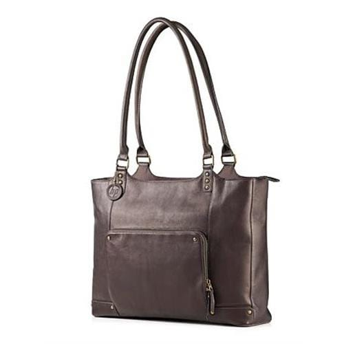 Taška HP Ladies Brown Leather Tote (up to 15.6)