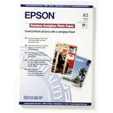 Papier EPSON S041334 Premium semi-gloss photo A3, 20ks