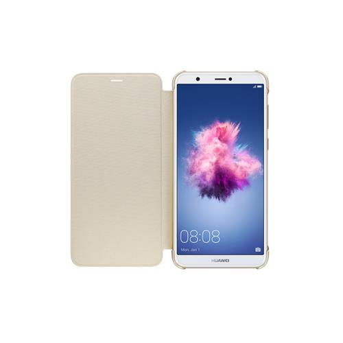 HUAWEI Flipové puzdro pre P Smart, Golden 6901443208388